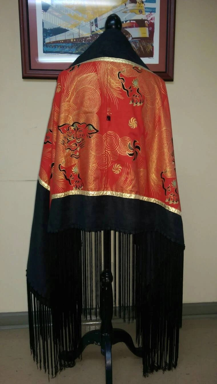The Guardians Native American Style Shawl PowWow by