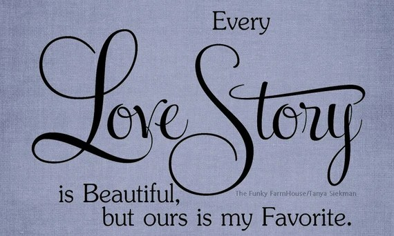 Download SVG DXF & PNG Every love story is beautiful but ours is my