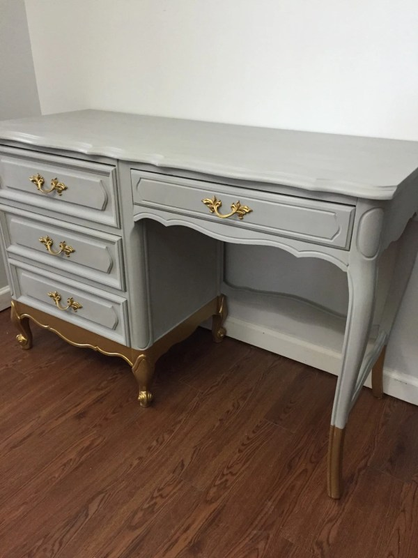 Reserved Kelley French Provincial Vanity Desk