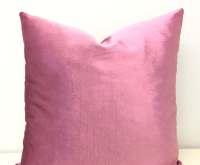Pink Velvet Pillow Cover Velvet Pillow Pink by artdecopillow