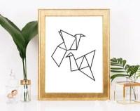 Origami printable   Etsy