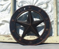 Items similar to Metal Wall Decor/ Nautical Star / Texas