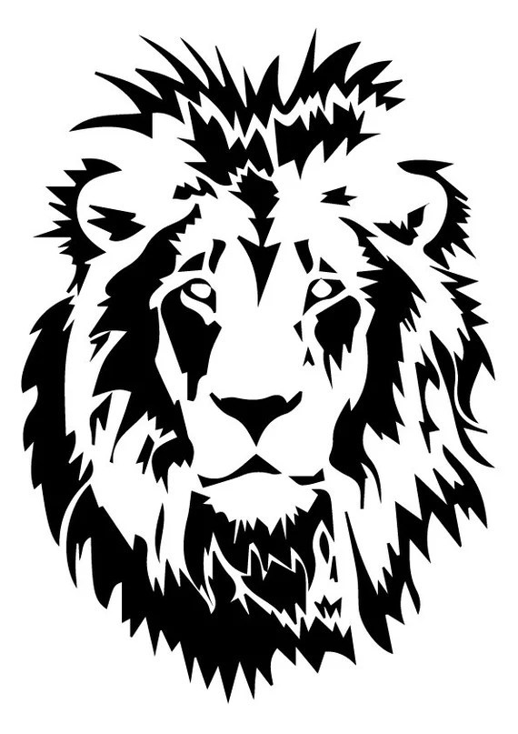 Download Lion svg Lion eps Lion silhouette Lion files cutting
