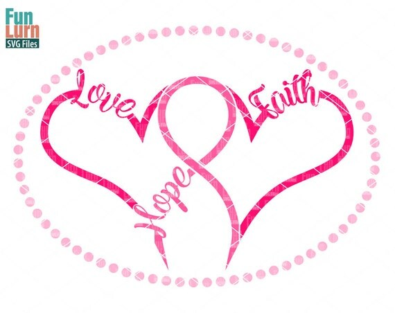 Download Breast Cancer SVG Hope Love FaithBreast Cancer
