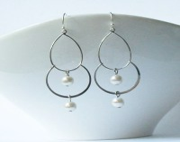 Bubble Dangle Earrings by PeriniDesigns on Etsy