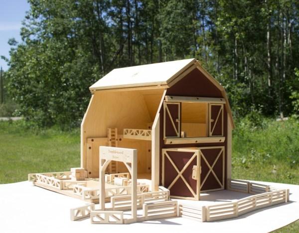 Big Red Barn Farm Toy Set Large Play