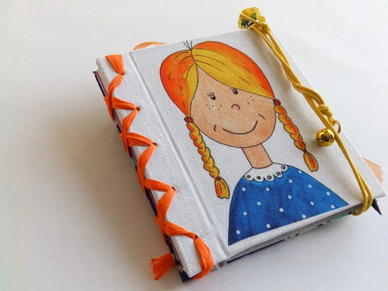 Kids memories Journal, pregnancy notebook or diary, made BY ORDER