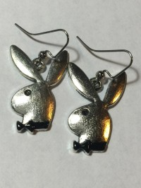 Playboy Bunny Earrings by JewelryandStuffbyLis on Etsy