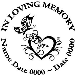 8 Best In Loving Memory Decals Images