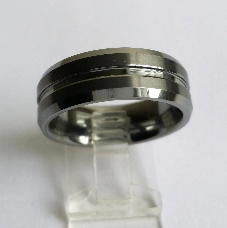 Amazing Vintage Tungsten FC Forever Carbide Mens Wedding