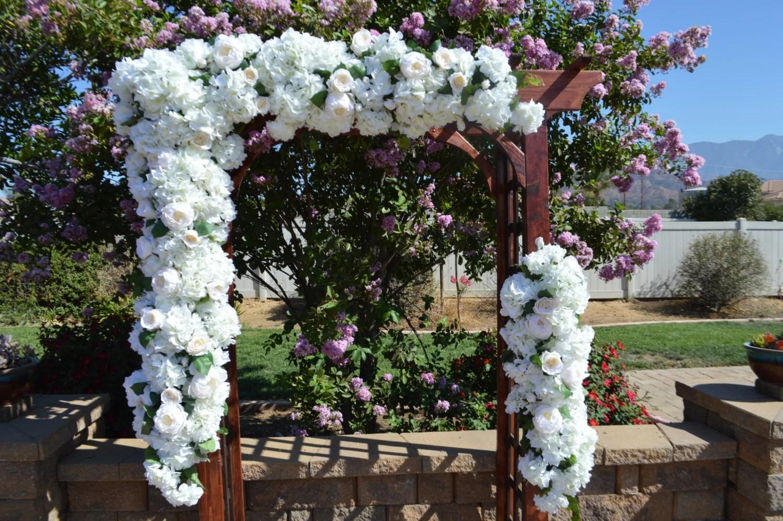 Wedding Arch Flowers Wedding Arbor Flowers Wedding Arch