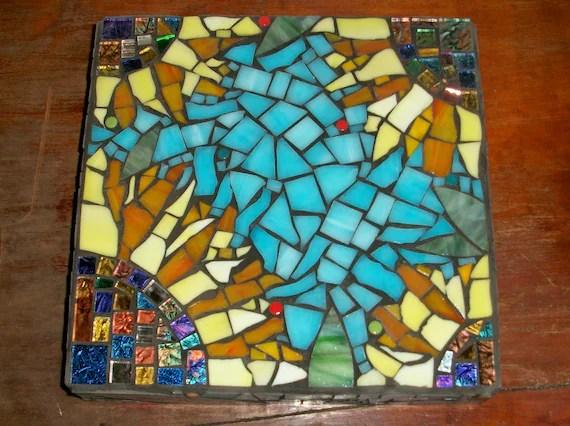 Mosaic Sunflower Wall Art