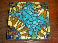 Mosaic Sunflower Wall Art