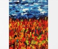 Dorm wall art Colorful art Landscape print Landscape art