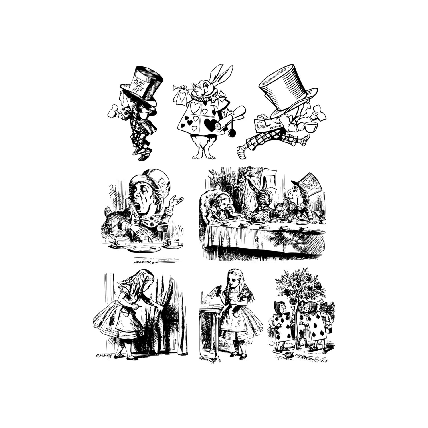 Alice In Wonderland Clip Art Alice In Wonderland Clipart