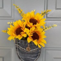 Sunflower Front Door Decoration Sunflower by ...
