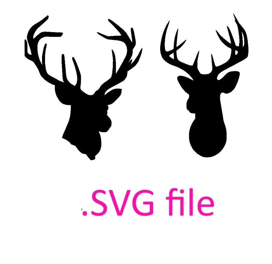 Download deer head svg design buck head design svg by OhThisDigitalFun