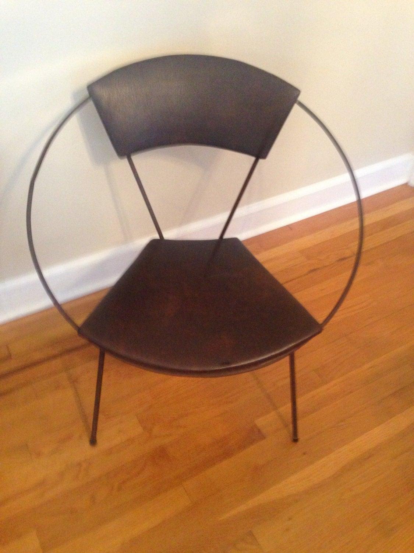 allsteel relate chair reviews pier 1 slipcovers mid century modern hoop vintage brown vinyl made in