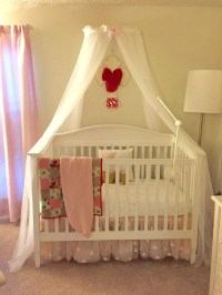 Princess Bed canopy CrOwN with FrEe White Sheer by ...