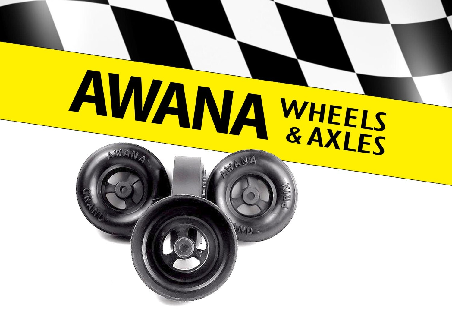 Awana Grand Prix Wheels Amp Axels Attached To My Pine Block