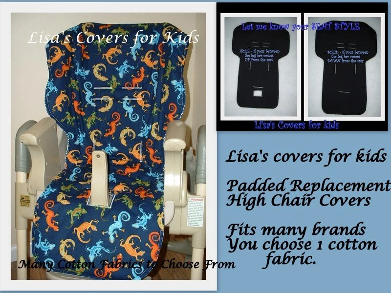 baby trend high chair cover replacement outdoor cushions bunnings lisa's covers for kids by lisascoversforkids on etsy