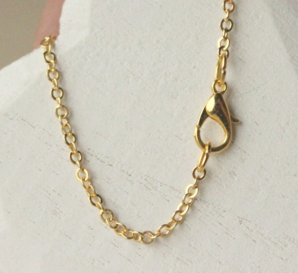 Gold Chain Necklace Choose 14 45 Thin