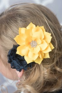 yellow hair accessories wedding items similar to yellow ...