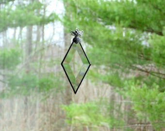 Three Sisters Best Friends Stained Glass Suncatcher