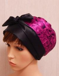 Silky satin head scarf Jewish women head wrap sleeping head