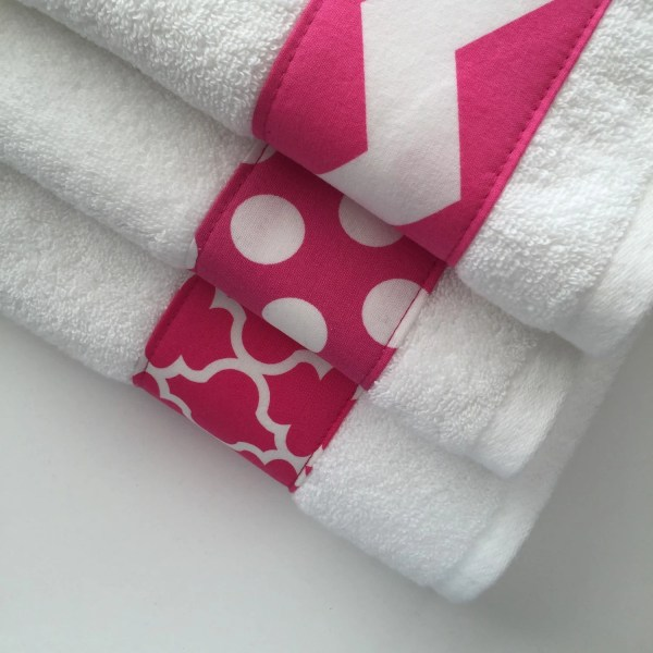Hot Pink Bathroom Towels
