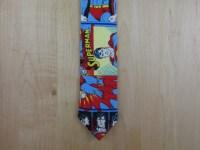 Superman Skinny Neck Tie