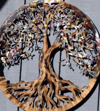 Large Metal Wall Art Tree of Life by HumdingerDesignsEtsy ...