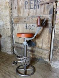 Industrial Bike Stools