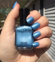 sky blue nail polish tina