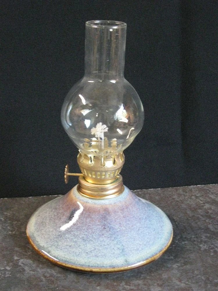 lamp oil lamp kerosene lamp hurricane lamp. pottery lamp