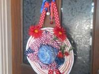 Items similar to Americana Door Decoration, Patriotic ...