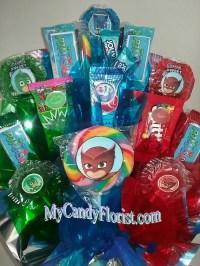 PJ MASKS Candy Bouquet Centerpiece Loaded w/ by CandyFlorist