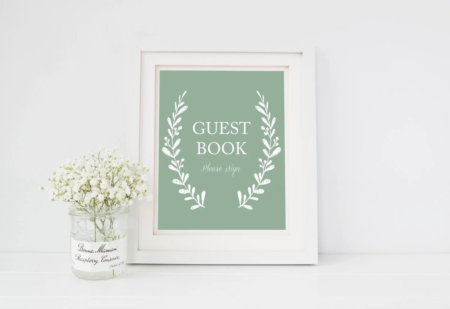Wedding Guest Book Please Sign Printable Sign