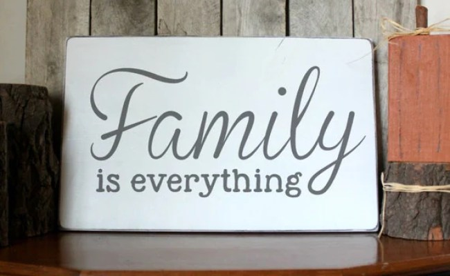 Family Wood Sign Family Is Everything Wood By Palateforpallets