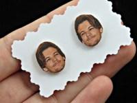 Louis Tomlinson earrings one direction earrings one