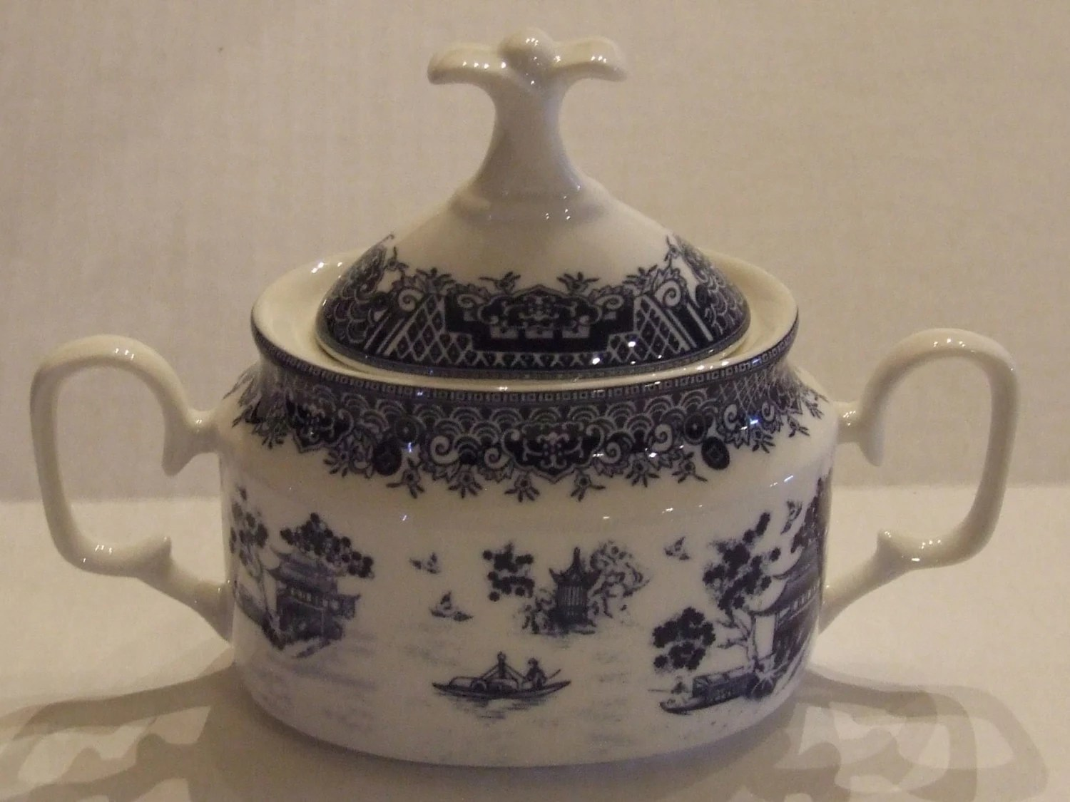 chinese kitchen accessories remodeling chicago sugar bowl gracie china true blue