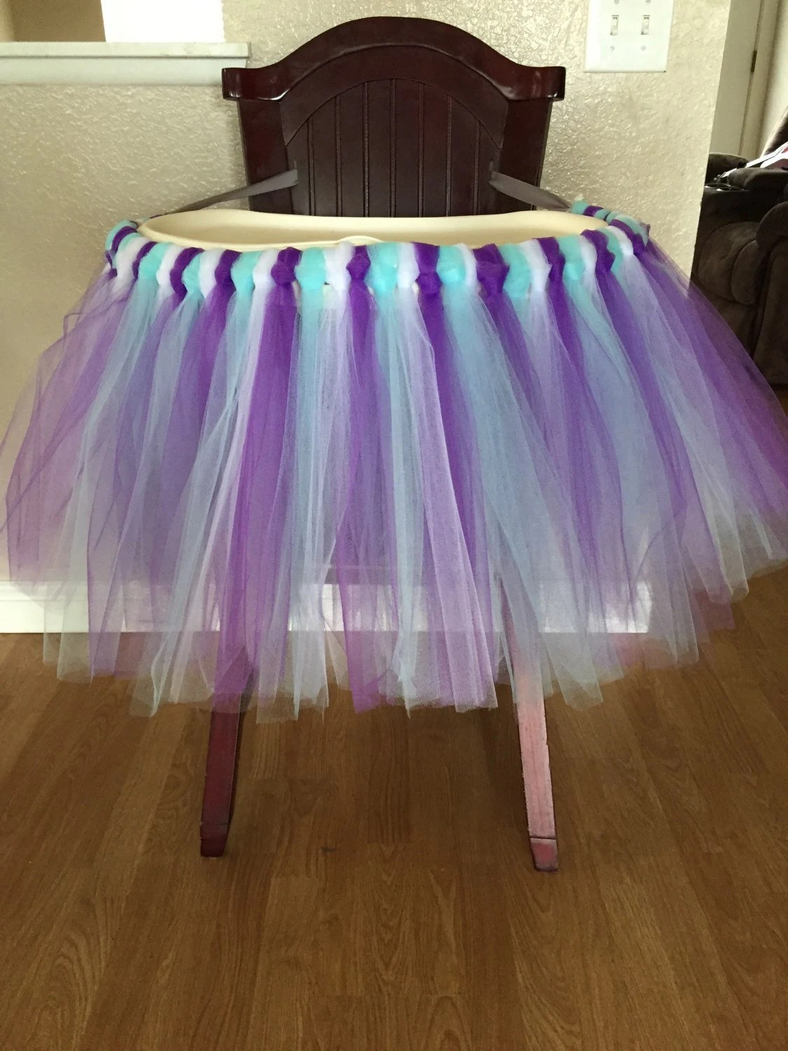 high chair tutu how to make covers for christmas
