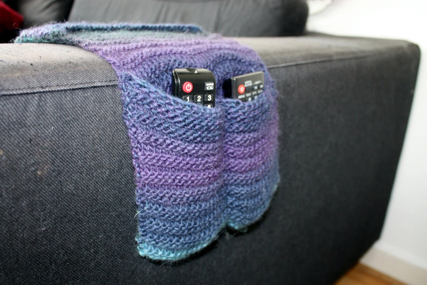 remote control holder for chair pattern wedding covers hire glasgow knitting instant download pdf