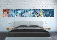 CANVAS PRINT Horizontal Extra Long Horizontal Large Abstract