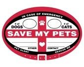 DECAL - Emergency Pet Ale...