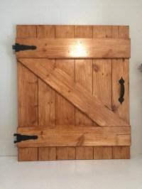 Decorative Barn Door