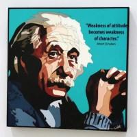 Albert Einstein Wall Art Decals Quotes Inspirational