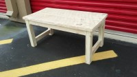 Cottage Style Small Coffee Table Shabby by ReclaimedWoodDreams