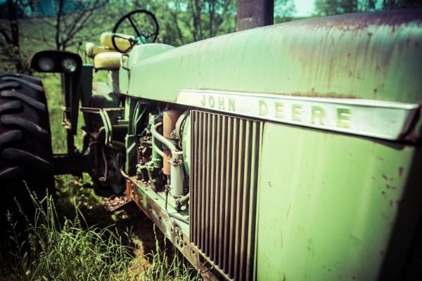 John Deere Green Tractor Farm Art Country Home Decor