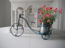 Bike Planter Plant Holder Decor Indoor Outdoor